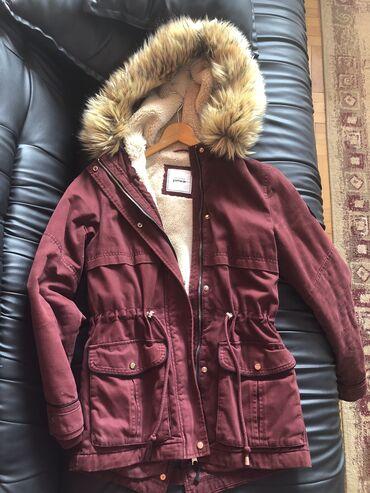 Ženske jakne - Beograd: Prodajem dobro ocuvanu, nosenu, zimsku jaknu iz Pimkie kolekcije. Veli
