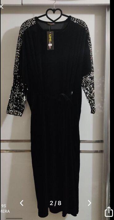 туры с бишкека in Кыргызстан | ОТДЫХ НА ИССЫК-КУЛЕ: Шикарное бархатное платье, отделанное пайетками, размер стандартный