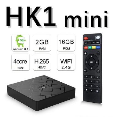 Android TV Box/Smart TV/Mini PC HK1 Mini 2GB RAM 4Core Android 8.1 - Beograd