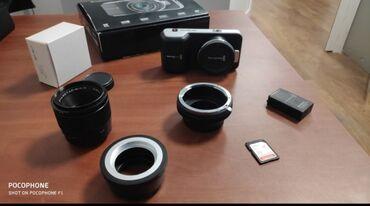 видеокамера panasonic ag ac8ej в Кыргызстан: Продаю кинокамера Blackmagic Pocket Cinema Camera. Состояние отличное