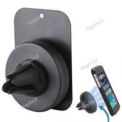 Magnetni drzac za telefon , montira se na otvor za ventilaciju u - Beograd - slika 3