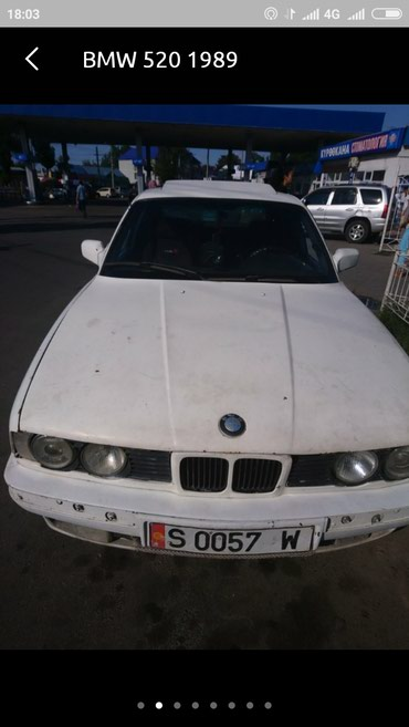 bmw-520 в Кыргызстан: BMW 520 2 л. 1989