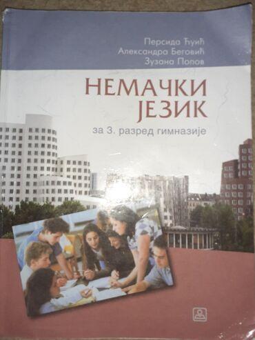 Posao nemacka - Srbija: Nemacki jezik, Zavod, za 3.razred gimnazije, koriscen, u dobrom