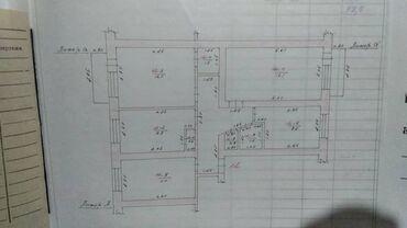 сдаю дом токмок в Кыргызстан: 4 комнаты, 74 кв. м Не сдавалась квартирантам, Животные не проживали, Неугловая квартира
