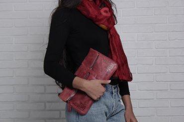сумка клатч  натуральная кожа  качество 100%  с кыргызским орнаментом  в Бишкек