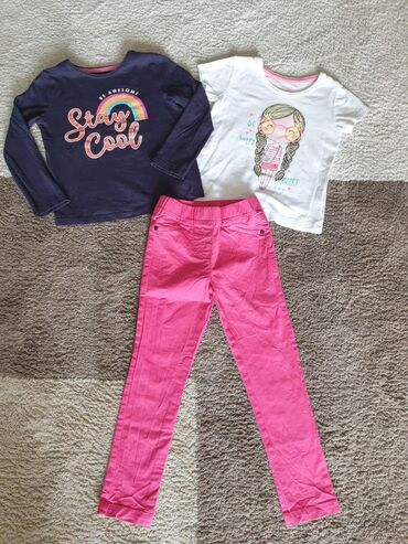 Waikiki pantalone i Primark majice vel 4god, bez ikakvih oštećenja i