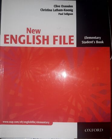 pocket book - Azərbaycan: New English file.elementary student book+work book+cd