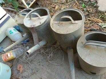 Лейки садовые, 10 литровые, оцинкованные в Бишкек