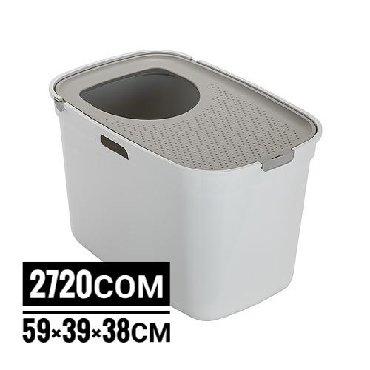 мягкие домики для кошек в Кыргызстан: Туалет-домик для кошек Moderna Top Cat 59х39х38 см