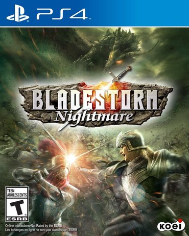 Bladstorm nightmare. Sony PlayStation 4 oyunlarının və aksesuarlarinin