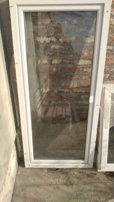 Pvc termo balkonska vrataDimenzije 209x97 cmDovezena iz Nemačke, u