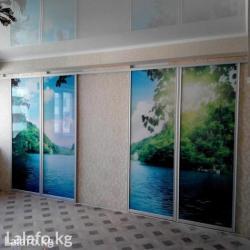 Двери купе, потолки, полы, перегородки, в Бишкек - фото 2