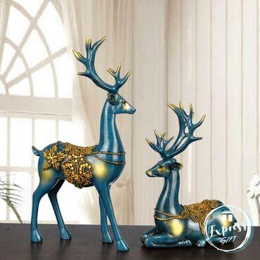 Dekorativ heykəl Məhsul əldədir 24saat ərzində çatdırılma Rayonlara ça