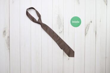 Аксессуары - Украина: Чоловіча темно-коричнева краватка George    Довжина: 134 см Ширина: 6