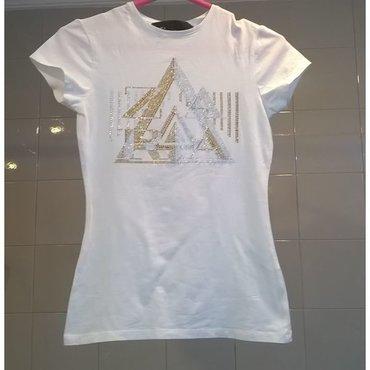 Μπλουζάκι Zara λευκό - Μέγεθος S / 26 Μεταχειρισμένο σε άριστη