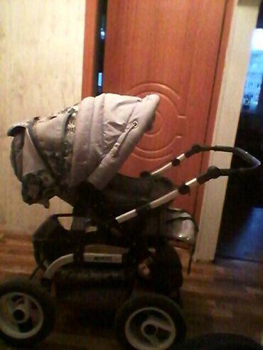 частная скорая помощь в бишкеке в Кыргызстан: Продаю коляску б/у.хорошим состояние,большая,очень удобно для