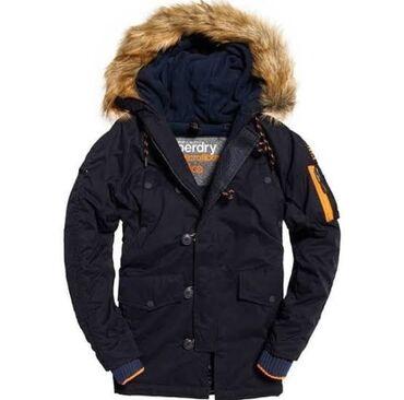 Zimska jakna sa krznom - Srbija: Vrhunska zimska Superdry zimska jakna sa prirodnim krznom jos 3XL