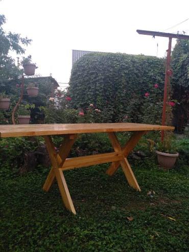 Стол дачный ( новый), размер : длинна 2 в Бишкек