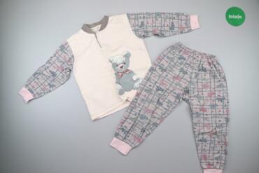 Дитяча піжама з ведмедиком (кофтинка та штани)    Кофтинка Довжина: 43