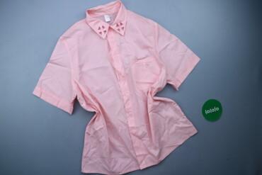 Жіноча однотонна сорочка, р. L   Довжина: 70 см Напівобхват грудей: 48