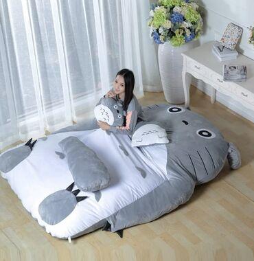 Мягкая кровать или плюшевая игрушка для сна. 100% пп хлопок