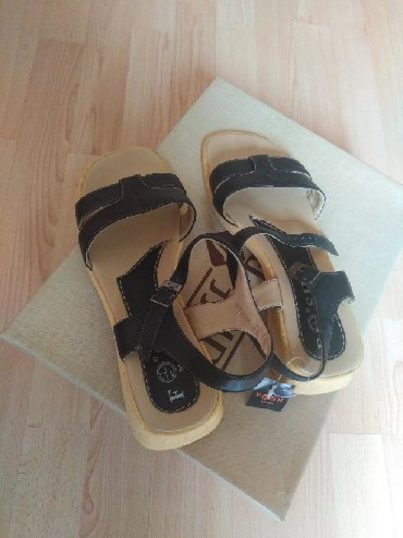 Kožne sandale 40 br. Nenošene samo 500 din rasprodaja