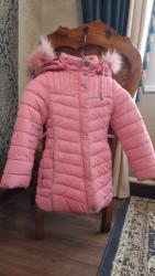Куртка пуховик зимняя на девочку 4-6 лет. Очень хорошего качества и