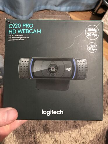 веб камеры 1280x1024 в Кыргызстан: Logitech c920 pro Hd webcam 720/1080p 30fps