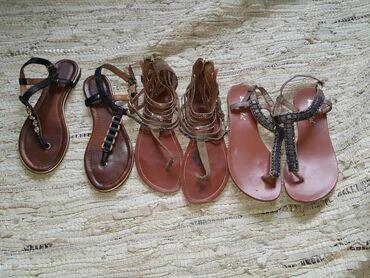 Ženska obuća | Jagodina: 3 para sandale 36 iz inostranstva