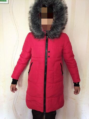 Зимняя куртка. Очень теплая Носила год. После стирки наполнитель