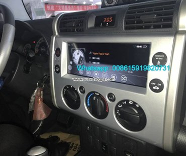 Toyota Landcruiser FJ Car audio radio android GPS navigation camera in Kathmandu