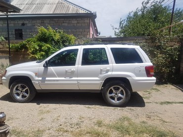 Jeep Azərbaycanda: Jeep Grand Cherokee 4 l. 1999 | 281568 km