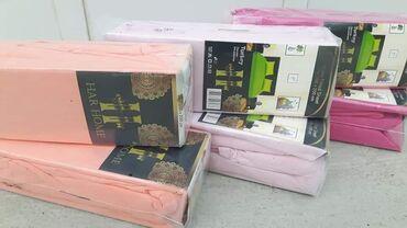 Carsafi za duseke dimenz 180 do 200×200 cm i 2 jastucnice 100% pamuk