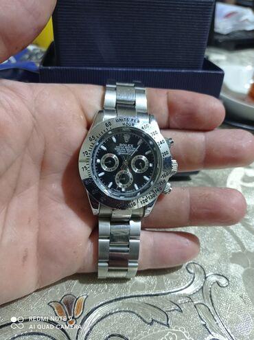 guclu tir tufengi az iwlenmiw - Azərbaycan: Gümüşü Kişi Qol saatları Rolex