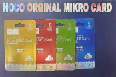 micro-sd - Azərbaycan: Mİkro SD Kart HOCO sinfi 10-cu sinifdir (8Gb, 16Gb, 32Gb