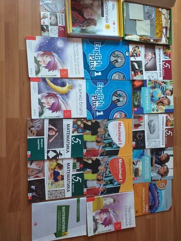 Knjige, časopisi, CD i DVD | Cuprija: Prodajem knjige za 5.razred Odlično očuvane