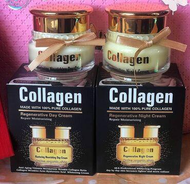 Collagen krem uzadeki qrislar eleyhine her biri 13azn