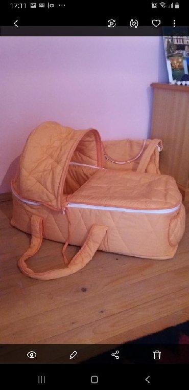 Decija nosiljka i torba. 2000 din. Ocuvano,za bebu do 3 meseca
