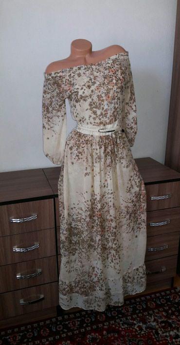 Турецкое платье шифон, размер 42-44, сост отл в Бишкек