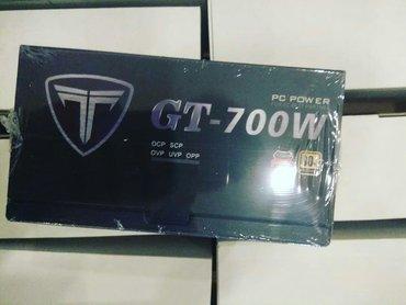 Enerji mənbələri Azərbaycanda: Titan GT 700w Qida bloku 100azn GTX video kartları üçün nəzərdə tutulu