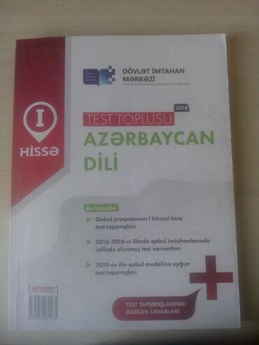 azerbaycan dili test toplusu pdf в Азербайджан: Azerbaycan dili test toplusu 1 hissə.Əla vəziyyətdə, cavablar əlavə