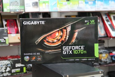 Gigabyte GeForce GTX 1070Tİ в Баку