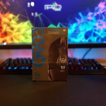 Logitech G903 Hero  Wireless gaming mouse. Təzə bağlı qutuda
