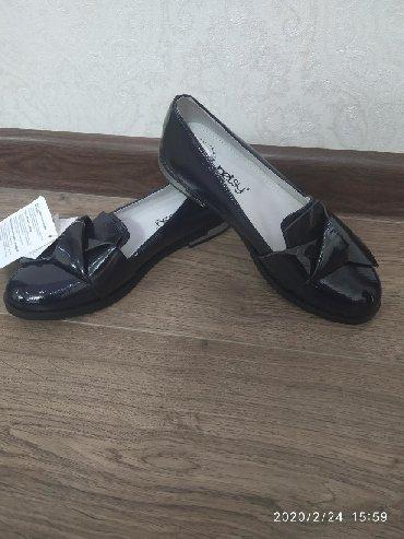 симпатичные туфли в Кыргызстан: Школьные туфли 38₽