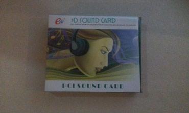 3D Sound Звуковая карта PCI новая в Бишкек