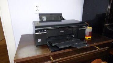 Цветной принтер 6 цветов Epson R290.РабочийДонорка и кабели в
