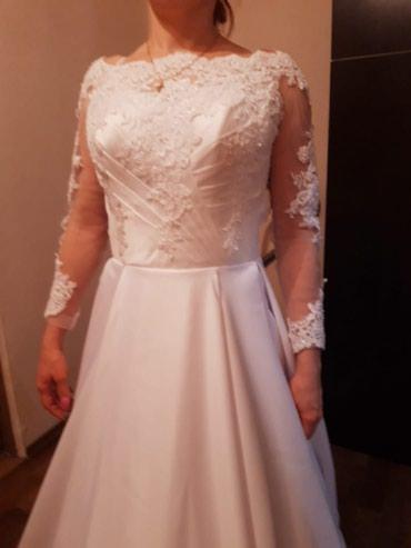 Новое! Белоснежное свадебное платье. в Бишкек