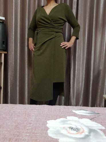 зелёное вечернее платье в Кыргызстан: Продаю шикарное вечернее платье, Турция 38 размер, цена 3500