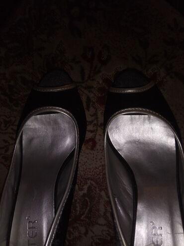 Carape sa prstima - Srbija: Predivne cipele sa otvorom na prstima, kao nove, br. 38