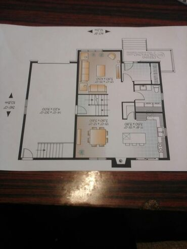 Kiraye evlerin kreditle satisi - Azərbaycan: Satılır Ev 120 kv. m, 4 otaqlı